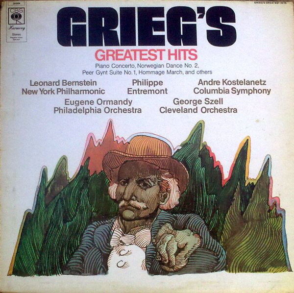 Grieg ‎– Grieg's Greatest Hits