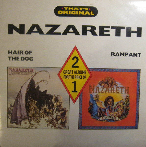 Nazareth (2) ‎– Hair Of The Dog / Rampant