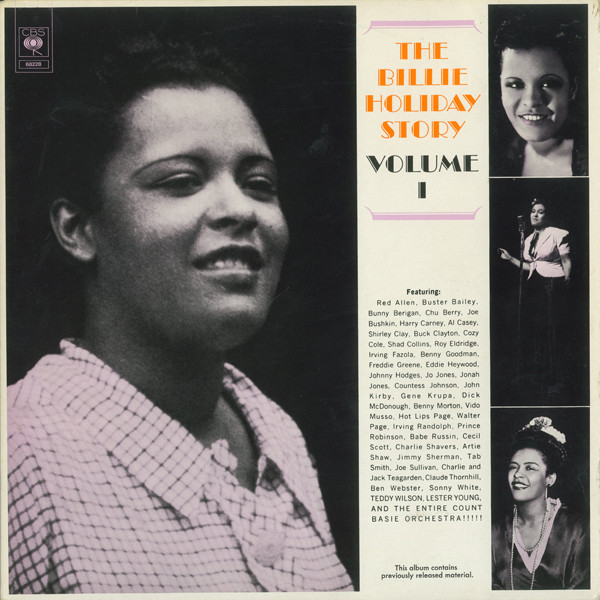 Billie Holiday ‎– The Billie Holiday Story Volume I