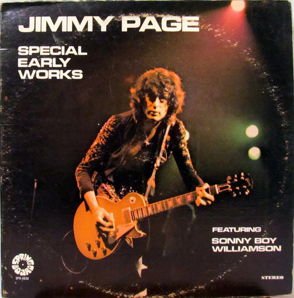 Jimmy Page ‎– Special Early Works Featuring Sonny Boy Williamson