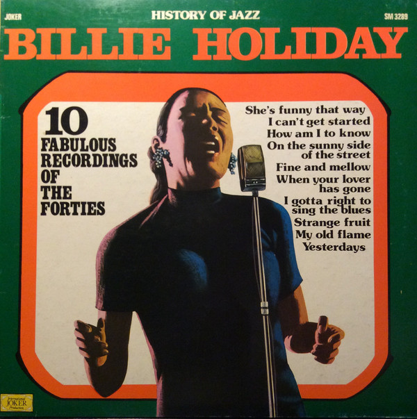 Billie Holiday ‎– 10 Fabulous Recordings Of The Forties