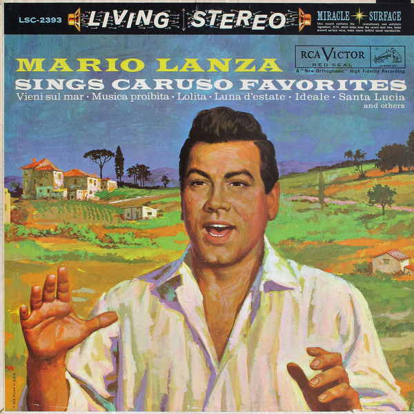 Mario Lanza ‎– Mario Lanza Sings Caruso Favorites