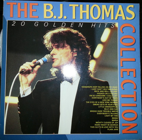 B.J. Thomas ‎– Collection - 20 Golden Hits